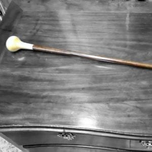 Two Tone Wooden Cane