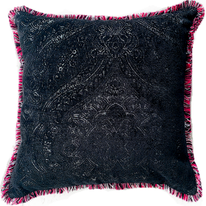 Pink Fringe luxury cushion